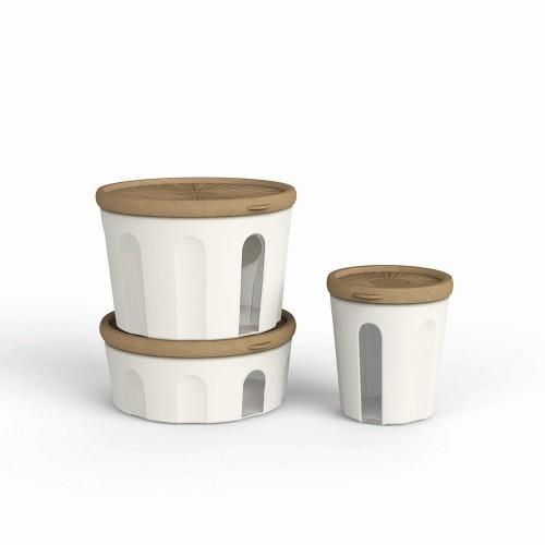 Tumbler round airtigh container