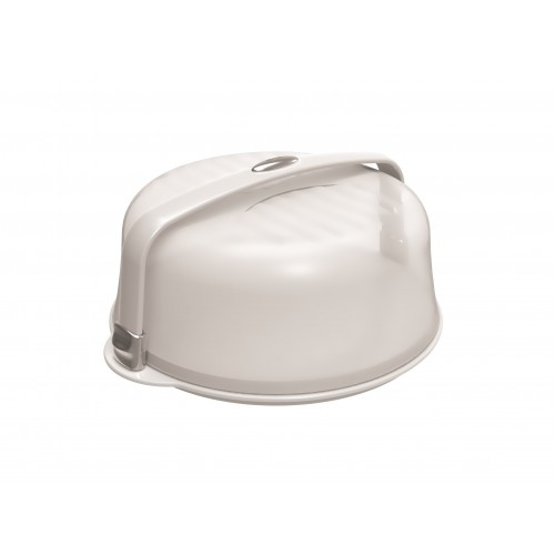 CAKE DOME WITH CHROMED SEALS
