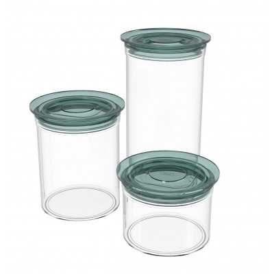 ROUND FOOD STORAGE JARS